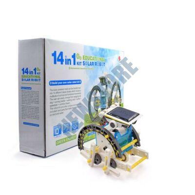 14in1 Robot Napelemes oktató játék