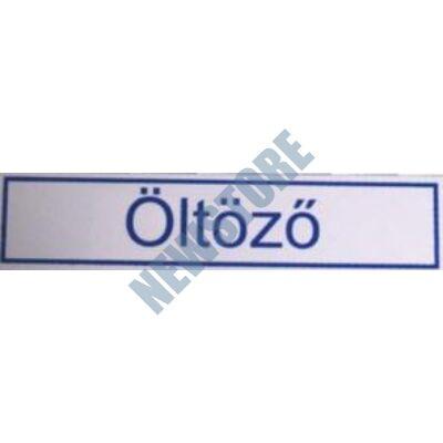 JKH Tábla műanyag 20 x 4,5 cm ÖLTÖZő 3427114
