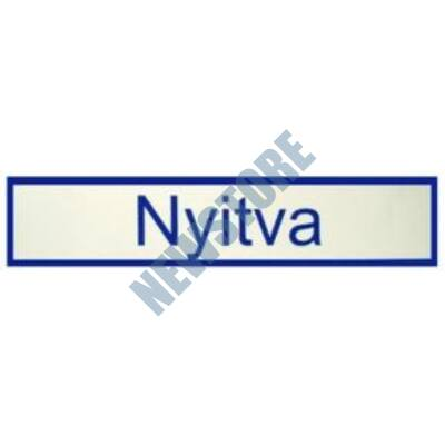 JKH Tábla műanyag 20 x 4,5 cm NYITVA 3427121