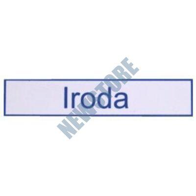 JKH Tábla műanyag 20 x 4,5 cm IRODA 3427123