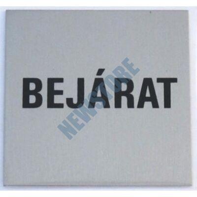 JKH Tábla alu öntapadós 60 x 60 mm BEJÁRAT 3427179