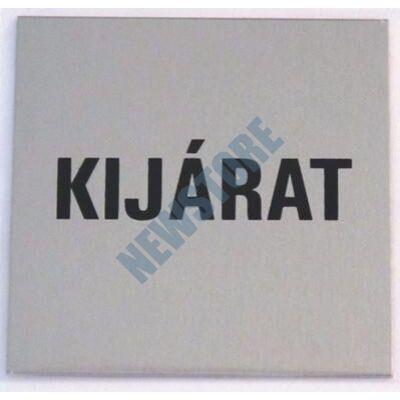 JKH Tábla alu öntapadós 60 x 60 mm KIJÁRAT 3427180