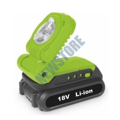 FIELDMANN FDUL 50901-0 Akkumlátoros lámpa Li-ion 18 V FDUL509010
