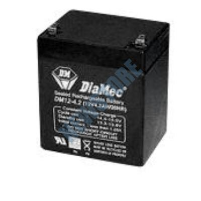 DIAMEC 12V 4,5Ah Zselés ólom akkumulátor