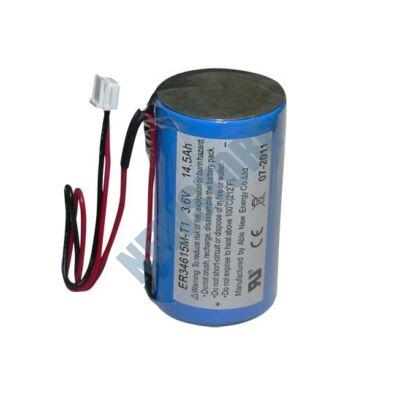 DSC WT4911BATAM Akkumulátor DSC WT4911AEU vezeték nélküli kültéri hang- és fényjelzőbe WT-4911