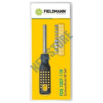 FIELDMANN FDS 1007-11R csavarkulcs készlet bitekkel 11 db-os FDS100711R