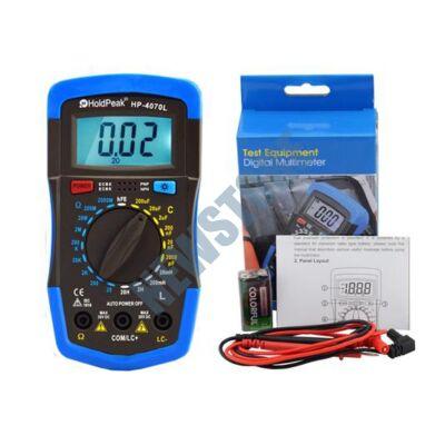 HOLDPEAK 4070 L Digitális multiméter 4070L