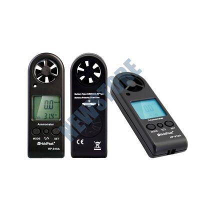 HOLDPEAK 816A Digitális szélerősség és hőmérsékletmérő 816 A