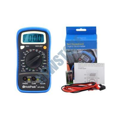 HOLDPEAK 830 L Digitális multiméter 830L