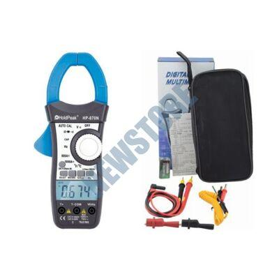 HOLDPEAK 870N Digitális lakatfogó multiméter 870 N