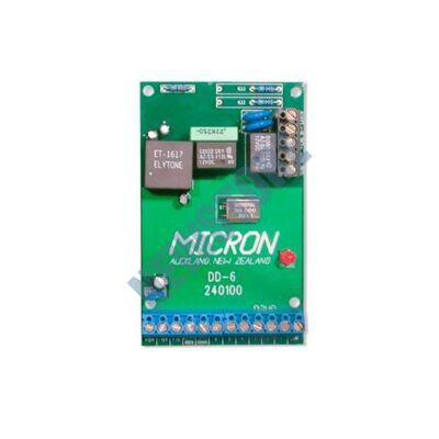 MICRON DD-6 Önállóan működő 6 csatornás kommunikátor bármilyen riasztórendszerhez DD6