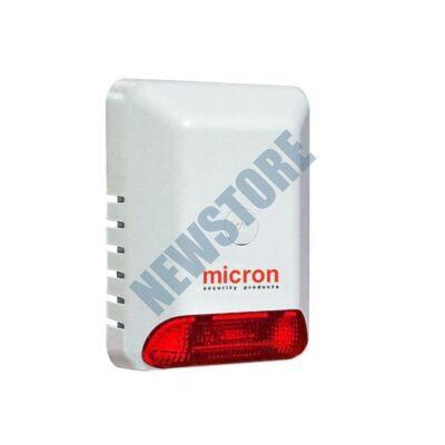 MICRON Eco Kültéri hang- és fényjelző piros