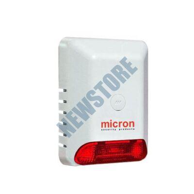 MICRON Eco B Kültéri hang- és fényjelző akkumulátoros kéthangú piros EcoB