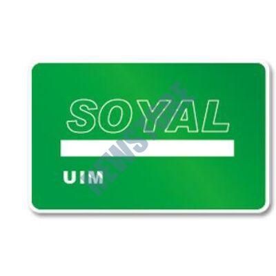 SOYAL AR-TAGC-UIM Felhasználó szerkesztő kártya zöld