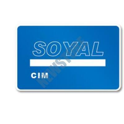 SOYAL AR-TAGC-CIM Beléptető olvasó programozó kártya kék
