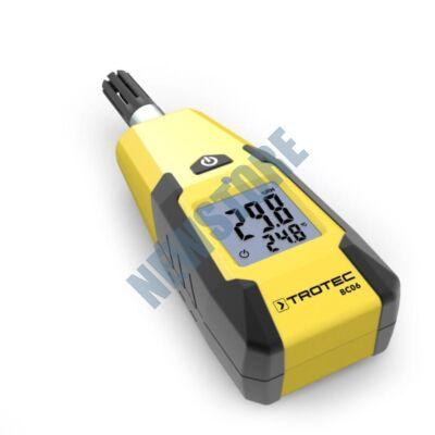 TROTEC BC06 Hőmérséklet és páratartalom mérő