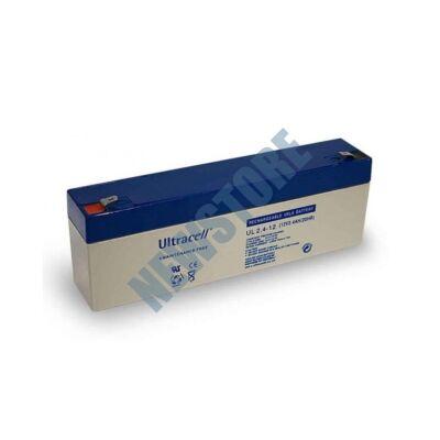 ULTRACELL 12V 2,4Ah Zselés ólom akkumulátor