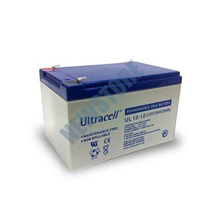 ULTRACELL 12V 12Ah Zselés ólom akkumulátor