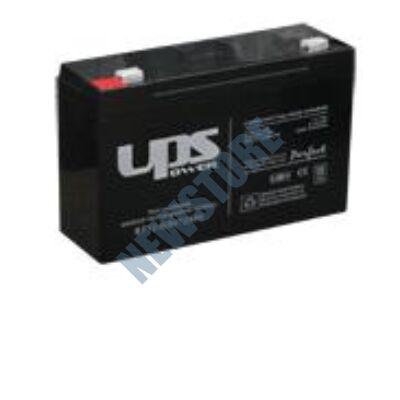 UPS 6V 12Ah Zselés savas ólom akkumulátor