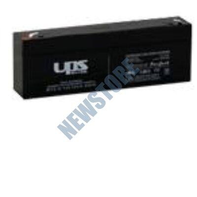 UPS 12V 2,2Ah Zselés ólom akkumulátor
