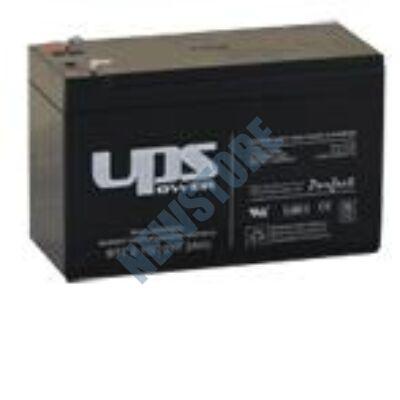 UPS 12V 7Ah Zselés ólom akkumulátor