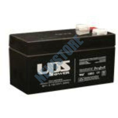 UPS 12V 1,3Ah Zselés ólom akkumulátor