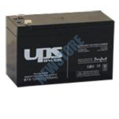 UPS 12V 9Ah F2 Zselés ólom akkumulátor F 2