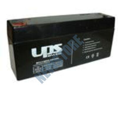 UPS 6V 3,3Ah Zselés savas ólom akkumulátor