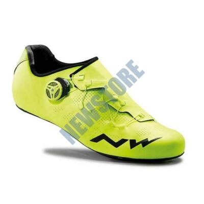 NORTHWAVE ROAD EXTREME RR kerékpáros cipő 42-es sárga fluo ... 6aedb234a9