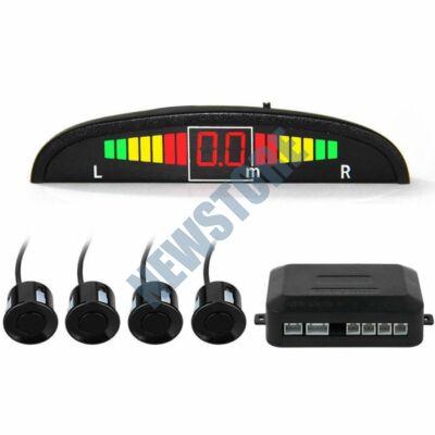 Ultrahangos tolató szenzor parkradar fekete HOP1000858-1