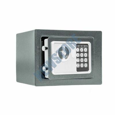 Digitális széf szürke 17x22,8x17cm HOP1000730-2