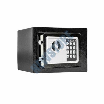 Digitális széf fekete 17x22,8x17cm HOP1000730-1