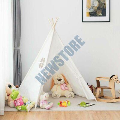 Indián sátor gyerekeknek fehér HOP1000941-1