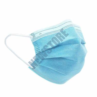 50db egyszerhasználatos 3 rétegű egészségügyi maszk felnőtt HOP1001076-1