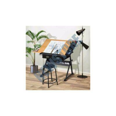 Dönthető rajzasztal ajándék székkel HOP1000989