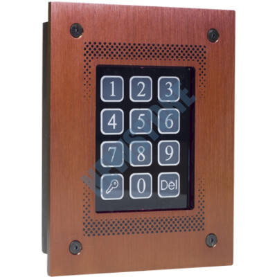 CODEFON kártyaolvasós kódzár süllyesztett (255/30) barna 113907