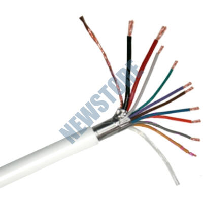 Erősített biztonságtechnikai kábel 2 x 0.5 + 8 x 0.22 CCA 113232