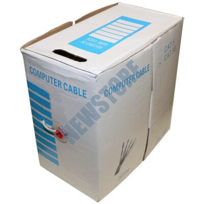 Tömör 4 x 2 x 0,5 FTP CAT.5e Solid Cable 305m 113234