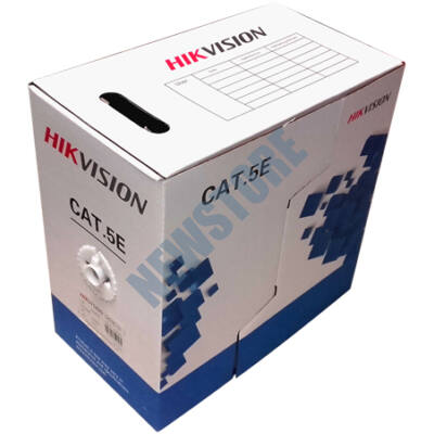 Tömör 4 x 2 x 0,5 UTP CAT.5e HIKVISION 305m 118228