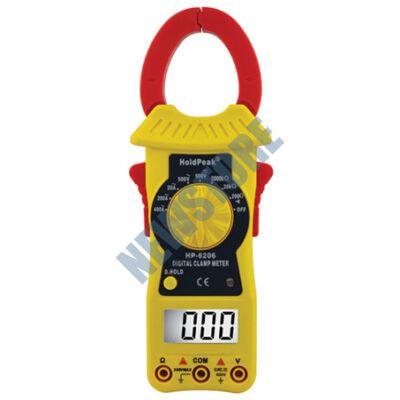 HOLDPEAK 6206 Digitális lakatfogó multiméter 113288