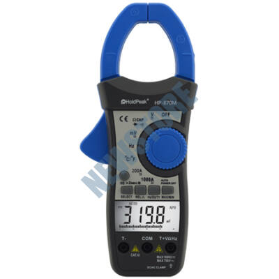 HOLDPEAK 870M Digitális lakatfogó multiméter 114843