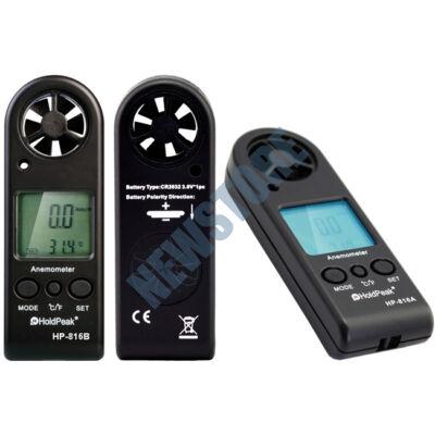 HOLDPEAK 816B Digitális szélerősség és hőmérsékletmérő 113759