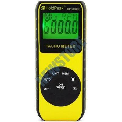 HOLDPEAK 9235C Digitáli lézeres optikai fordulatszámmérő 114827