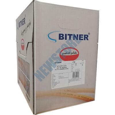 Tömör 4 x 2 x 0,5 F/UTP CAT.5e 200MHz Bitner 305m 120792