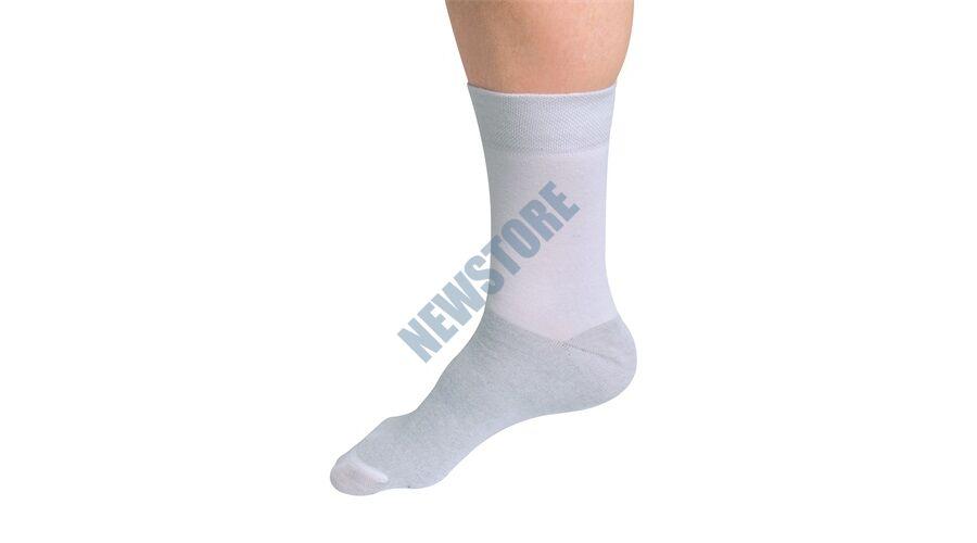 VivaFit SilverSocks Long ezüstszálas zokni fehér 43 45 GYVFSSLW4345 ... 36306abdb6